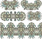 Decor,Design Element,Design,Decoration,Floral Pattern,Pattern,Vector