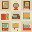 Fun,Furniture,Futuristic,Equipment,Table,Television Tube,Symbol,kinescope,Collection,Vector,Single Object,Ilustration,Pattern