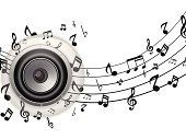 Speaker,Musical Note,Backgrounds,Nightclub,Disco,White,Amplifier,Power Supply,Nightlife,Sound,Treble,Single Object,Silver Colored,Close-up,Equipment,Stereo,Metallic,Entertainment,Silver - Metal,Music,Audio Equipment,Technology,Shiny,Design,Party - Social Event,Bass,Black Color,Circle,Electrical Equipment,Vector,Volume,Clubbing,Isolated