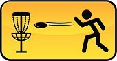 Disc Golf,Plastic Disc,Golf,Disk,Silhouette,Back Lit,Mixing,Play,Leisure Games,Aspirations,Playful,Tossing,Sport,Stick Figure,Playing,Throwing,Target,Road Sign,Goal,Sign