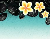 Spa,Health Spa,Water,Healthy Lifestyle,Spa Treatment,Flower,Wellbeing,Single Flower,Healthcare And Medicine,Stone,Beauty,Zen-like,Rock - Object,Plant,Aromatherapy,Summer,Freshness,Space,Nature,Flower Head,Springtime,Petal,Blue,Frangipani Flowers,Relaxation,Backgrounds,Sand,Wet