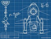 Blueprint,Rocket,Formula,Spaceship,Science,Simplicity,Construction Industry,Document,Sketch,Paper,Earth,Plan,Grid,Planet - Space,Order,Rocket Booster,Drawing - Art Product,White,Backgrounds,Astronomy,Blue,Sun,Technology,Vector,Exploration,Mars,Sheet