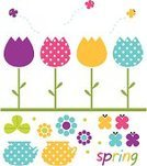 Easter,Backgrounds,Single Flower,Modern,Flower,White Background,Birthday,Flower Bed,Tulip,Purple,Ilustration,Celebration,Isolated,Plant,Orange Color,Springtime,Holiday,April,White,Pink Color,Green Color,Day,Yellow,Multi Colored,Beautiful,Invitation,Freshness,Vector,Valentine's Day - Holiday,Clip Art,Design,Isolated On White,Nature,March,Drawing - Art Product,Season,Butterfly - Insect,Summer,Blue,Art,Greeting,Beauty,Cute,Ornate,Spotted,Blossom,Romance