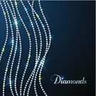 Diamond,Diamond Shaped,Backgrounds,Rhinestone,Costume Jewelry,Wedding,Bead,Gemstone,Necklace,Text,Bright,Jewelry,Shiny,Blue,Circle,Design,Fashion,Elegance,Yellow,Medium Group of Objects,template,Flowing,Hanging,Glowing,Green Color,Copy Space,Illuminated,Sparks,Dazzler,White