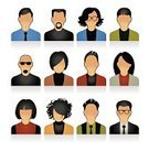 People,Avatar,Computer Icon,Symbol,Icon Set,Silhouette,Business,Human Head,Human Face,Business Person,Occupation,Teamwork,Nerd,IT Support,Women,Human Resources,Male,Technology,Vector,user,Men,Warehouse,Human Hair,Simplicity,Team,vector icons,Design,Set,Group Of People,Businessman,Modern,Female,Office Interior,Receptionist,Manager,Illustrations And Vector Art,Sales Occupation,Businesswoman,Professional Occupation
