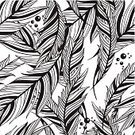 Feather,Ilustration,Drawing - Art Product,Backgrounds,Beauty,Repetition,White,Pattern,Design,Bird,Black And White,Computer Graphic,Black Color,Animal Pen,Vector,Retro Revival,Nature,Seamless,Painted Image,Monochrome,Outline,Abstract,Fluffy,Flying