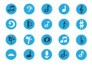 Musical Symbol,Sheet Music,Music,Icon Set,Computer Icon,Symbol,Treble Clef,Bass Clef,Musical Note,Accounting Ledger,Treble,Internet,Key Signature,Sound,Chord,Interface Icons,Recording Studio,Circle,Piano,Microphone,Blue,Musical Staff