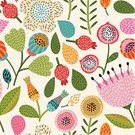 Pattern,Wallpaper Pattern,Beauty,Seamless,Backgrounds,Doodle,Leaf,Flower,Old-fashioned,Vector,Floral Pattern,Ilustration,Blossom,Vibrant Color,Branch,Abstract,Drawing - Art Product,Square,Green Color,Pink Color,Multi Colored,Creativity,Design,Style,Ornate,Design Element,Purple,Elegance,Computer Graphic,Berry Fruit,Contrasts,Simplicity,Cute