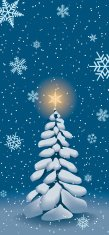 Snow,Christmas,Tree,Fir Tree,Blue,Greeting,Winter,Holiday,Snowflake,Party - Social Event,Frame,Season,Vector,Ilustration,Vacations,Image,Backgrounds,Sky,Weather,Travel Destinations,December,Painted Image,Digitally Generated Image,Concepts And Ideas,Frozen,Celebration,Illustrations And Vector Art,January,Ice,Cold - Termperature,Time,Travel Locations