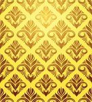 Floral Pattern,No People,Swirl,Ornate,Gold Colored,Vector,Retro Revival,Arts Symbols,Scroll Shape,Design,Flower,Curled Up,Art,Cultures,Pattern,Decoration,Design Element,Concepts And Ideas,Old-fashioned,Yellow,Computer Graphic,Backgrounds,Spiral,Victorian Style,Illustrations And Vector Art