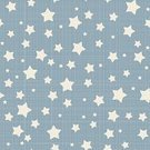 Star Shape,Pattern,Backgrounds,Seamless,Retro Revival,Old-fashioned,Pastel Colored,White,Abstract,Repetition,Textured,Blue,Simplicity,Linen,Vector,Design Element,Ilustration,Decoration,Creativity,Design,Textile,Computer Graphic,Art