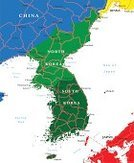 Map,Cartography,Korea,South Korea,North Korea,Flag,Peninsula,North,Vladivostok,Russia,South,Seoul,Hiroshima Prefecture,East,Ilustration,Ethnicity,East Asia,Vector,Ideas,Asia,Japan,nation,countries,Pyongyang,Art,Daegu,Patriotism,Wonsan,Busan,Painted Image,Design,republic,China - East Asia,National Landmark,Ulsan,Fukuoka Prefecture