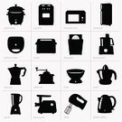 Juicer,Silhouette,Blender,Computer Icon,Symbol,Stove,Dishwasher,Domestic Kitchen,Cooking Utensil,Oven,Coffee - Drink,Grinding,Food,Cooking Pan,Work Tool,Natural Gas,Computer Graphic,Grinder,Making,Scale,Kettle,Sandwich - Kent,Mill,processor,Toaster,Kitchen Utensil,Equipment,Single Object,Refrigerator,Mocha,Microwave,Set,Daequan Cook,Brazier,Vector,Weight Scale,Meat,Steam,Pattern,Electricity,Electric Mixer