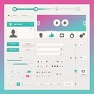 Interface Icons,Radio,Infographic,UI,Internet,Menu,Scrolling,Design Element,Plan,Symbol,Control Panel,Light - Natural Phenomenon,Form,Silhouette,Collection,Modern,Placard,Control,Page,Pattern,Design,Abstract,Computer,Vector,Box - Container,template,Pink Color,Number,Purple,Bubble,Picture Frame,Label,Satisfaction,Frame,Sign,Connection,Elegance,Business,Icon Set,Set,Progress,Gray,White,Direction,Arrow Symbol,Emerald