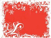 Snowflake,Backgrounds,Vector,Red,Happiness,Cheerful,No People,Snowing,Winter,Horizontal,White,Design,Art,Illustrations And Vector Art,Grunge,Season,Ilustration,happy holiday,Concepts And Ideas,Time,Snow,Pencil Drawing,Abstract,Swirl,Color Image