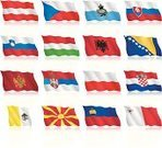 Waving,Flag,Set,Croatia,Bosnia and Hercegovina,Republic Of Macedonia,Slovenia,Serbia,Montenegro,Polish Flag,Icon Set,Travel Locations,Serbian Flag,Montenegro Flag,waving flag,Hungary,Albania,San Marino - Italy,Poland,Slovenian Flag,Czech Flag,Wave Pattern,Vector,Hungarian Flag,Slovakia,San Marino Flag,National Flag,Austrian Flag,vector icons,Austria,Maltese Flag,Albanian Flag,Bosnia Herzegovinan Flag,waveform,Vatican,Croatian Flag,Czech Republic,Malta,Flag Of Liechtenstein,Macedonian Flag,Ilustration,Collection,Liechtenstein,Flat,Illustrations And Vector Art,Vatican Flag,Slovak Flag,Computer Icon