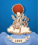 Heaven,Wing,Love,Cupid,Heart Shape,Christianity,Flying,Arrow Symbol,Saint,Religion,Angel,Cloud - Sky,Ghost,God,Valentine's Day - Holiday,Human Heart,Ilustration,Desire,Animated Cartoon,Joy,Painted Image,Valentine Card,Messenger,Arrow,Cute,Honeymoon,Cartoon,Cherub,Placard,Backgrounds,Celebration,Blessing,Striped,Jason Day - Actor,History,Spirituality,Vector
