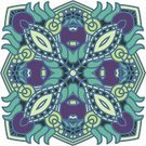 Circle,Curve,Backgrounds,Computer Graphic,Green Color,Blue,filigree,Decoration,Pattern,Symmetry,Frame,Floral Pattern,Vector,Design Element,Ilustration,Abstract,Mosaic,Stained Glass,Ornate,Center