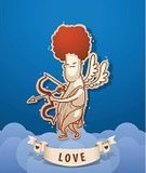 Backgrounds,Valentine's Day - Holiday,Angel,Arrow Symbol,Arrow,Cartoon,Cupid,Cherub,Valentine Card,God,Cute,Honeymoon,Joy,Christianity,Heart Shape,Flying,Religion,Jason Day - Actor,Human Heart,Wing,Desire,Animated Cartoon,Spirituality,Striped,Cloud - Sky,Love,Placard,History,Ghost,Ilustration,Vector,Saint,Blessing,Painted Image,Heaven,Celebration,Messenger