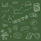 Blackboard,Chalk - Art Equipment,Group of Objects,Graph,Formula,Ilustration,Mathematical Symbol,Symbol,Backgrounds,Number,Education,Vector,Cube Shape,Square Shape,Green Color,Cartoon,Equipment,Pencil,Set,Art,Notebook,Drawing - Activity,Calculating,Question Mark,Learning,Paper,Sketch,Circle,Mathematics,Pencil Drawing,Green Background,White,School Building,Isolated,Ruler,Book,Calculator,Drawing - Art Product