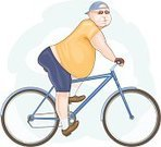 Overweight,Cycling,Lifestyles,Bicycle,Cyclist,Summer,Cut Out,Ilustration,Clip Art,Cartoon,Springtime,Completely Bald,Isolated On White,Men,Autumn,Male,Healthy Lifestyle,Brown,Full Length,Square,White,One Person,Color Image,Computer Graphic,Mid Adult Men,Beige,Pot Belly,Orange Color,Shaved Head,Isolated,Blue,People,Side View,Profile View,Full Frame,Caucasian Ethnicity,Alternative Lifestyle,Portrait,One Mid Adult Man Only,Only Mid Adult Men,Vector,Blank Expression,Baseball Cap,Hair Loss,White Background,Low Angle View