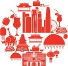 Singapore,Icon Set,Computer Icon,Rhinoceros,Chinese Lantern,Asia,Silhouette,Ilustration,Skyscraper,Typhoon Durian,Vector,Flag,Built Structure,Colonial Style,Cocktail,Animal,Zoo,Cultures,Giraffe,Animals In The Wild,Asian Ethnicity,Building Exterior,Urban Scene,Elephant,East Asian Culture,Cityscape,Fruit,City,Travel,Asian Cuisine,Singapore Sling,Cartoon,Temple - Building