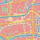 Map,Cartography,City,Seamless,Railroad Track,Residential District,Vector,Crossroad,Backdrop,Town,Boulevard,Ilustration,Street,Park - Man Made Space,Town Square,Avenue,River,Backgrounds,Channel