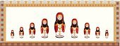 Russian Culture,Doll,Frame,Cultures,Art,Decorative Art,Ilustration,Russian Nesting Doll