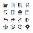 Computer Icon,Symbol,Back Arrow,Ring Binder,File,Icon Set,Connection,Support,Question Mark,Delete Key,Add,Setting,Scissors,Printer,Help,Log Out,Link,Gear,Floppy Disk,Sign,Cutting,Computer Printer,Interface Icons,Connect,Plus Sign,Clipboard,Cancel,Undo Key,Vector,vector icons,Repetition,Export,Save File