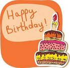Fire - Natural Phenomenon,Candle,Birthday,Cake,Red,Greeting,Celebration,Ilustration,Greeting Card,Vector