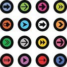 Interface Icons,Play,Flat,Triangle,Pointing,Two-dimensional Shape,Simplicity,Next,White,Orange Color,Green Color,White Background,Purple,Arrowhead,Symbol,Cursor,Sign,Direction,Pointer Stick,Downloading,Blue,Vector,Design Element,Red,Yellow,Circle,Pink Color,Gray,Black Color,Brown,The Way Forward,Label,Solid,Plain,Badge,Cute,Directional Sign,Arrow Symbol,Icon Set
