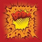 Anger,Bomb,Copy Space,Ilustration,No People,Bang,Red,Boom,Abstract,Vector,Comic Book,Speed,Yellow,Drawing - Art Product,Danger,Backgrounds,Exploding,Text,Cartoon