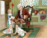 Grandfather,Baby,19th Century Style,Playing,Family,Ilustration,Grandchild,Senior Adult,Old-fashioned,History,Image Created 19th Century,Line Art,Sitting,Period Costume,Emotion,Activity,English Culture,Old,Domestic Cat,Drawing - Art Product,Cultures,Traditional Clothing,Social History,Toy,England,Listening,Nursery,Pets,Men,Enjoyment,Little Boys,Engraved Image,Little Girls,Engraving,Love,Image Created 1880-1889,Domestic Life,Antique,Relaxation,The Past,Print,British Culture,Affectionate,Indoors,Senior Men,Domestic Room,Childhood,Sibling,Child,Care,UK
