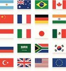 Indian Flag,Mexican Flag,Flag,Group Of 20,Turkish Flag,Saudi Arabian Flag,National Flag,Indonesian Flag,British Flag,Symbol,Circle,Russian Flag,Computer Icon,European Union Flag,American Flag,Collection,Icon Set,Industry,Italian Flag,Brazilian Flag,German Flag,South Korean Flag,Organized Group,Australian Flag,Set,Government,Chinese Flag,Finance,Directly Above,Sign,Discussion,French Flag,Isolated On White,Business,Organization,Global Business,Politics,Argentinian Flag,Canadian Flag,Japanese Flag,Meeting