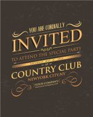 Invitation,Retro Revival,Old-fashioned,template,Typescript,Graphic Designer,Textured,Grunge,Pattern,Scroll Shape,Textured Effect,Design,Banner,Placard,Label,Funky,customizable,Creativity,Old,Vector,Ilustration,Print,Youth Culture,Scratched,Rusty,Invitation Card,Modern,Swirl,Composition