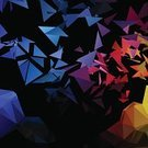 Exploding,Triangle,Vector,Abstract,Red,Yellow,Multi Colored,Decor,Business,Elegance,Decoration,Blue,Backgrounds,Glowing,Backdrop,Celebration,Ilustration,Creativity,Geometric Shape,Futuristic