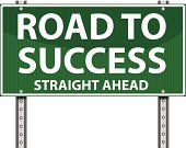 Success,Street,Road,Road Sign,Winning,Vector,Placard,Motivation,Imagination,Ideas,Concepts,Aspirations,Direction,Business,Road To Success,Solution,Sign,Incentive,Isolated,Single Word,Directional Sign,Text,The Way Forward