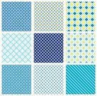 Seamless,Set,Plaid,Textile,Pattern,Repetition,Backgrounds,Backdrop,Multi Colored,Textured,Checked,Decor,textile design,Checkered Pattern,Design Element,Design,Striped,Blue