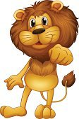 Lion - Feline,Animal Mouth,Animal Hair,Animal Hand,Backgrounds,Computer Graphic,Brown,Animal,Animal Skin,Animal Eye,Image,Standing,Adult,Male Animal,Animal Nose,Tail,Carnivore,One Animal,Mascot,Animal Foot,Animal Ear,Cute,Single Object,Furious