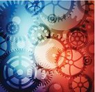 Gear,Technology,Abstract,Pattern,Backgrounds,Blue,Circle,Red,Transparent,Engineering,Multi Colored,Machine Part