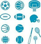 Football Helmet,Symbol,Basketball Hoop,Ball,Vector,Soccer Ball,Basketball - Sport,Basketball,Volleyball,Icon Set,Volleyball - Sport,Sign,Sports Equipment,American Football - Sport,Football,Tennis Ball,Baseball - Sport,Baseballs,Simplicity,Athlete,Baseball Bat,Sport,Golf Ball,Design Element,Tennis Racket,Tennis,Tee,Professional Sport,Golf,Equipment,simplistic