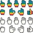Human Hand,Number 1,Thumbs Up,Cursor,Number 2,Three Objects,Homosexual,Four Objects,Pixelated,Counting,OK Sign,Multi Colored,Warning Sign,Human Finger,Colors,E-commerce,Spectrum,Set,Orange Color,Number 5,Vector,Computer,Five Objects,Entrance Sign,Number 8,Red,Blue,Number 9,Image Sequence,Purple,Green Color,Yellow,Rainbow,Positive Emotion,Directional Sign,Right Handed,Exit Sign,Collection,Thumb,Internet,Index Finger,Left Handed,Ilustration,Number 7,Number 6,Full Hand,Conceptual Symbol,No Trespassing Sign
