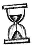 Sparse,Painted Image,Vertical,Hourglass,Pencil Drawing,Time,Photography,Drawing - Art Product,Symbol,Patience,Sketch,Paintings,No People