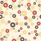 Beige,Computer Graphic,Backgrounds,Ornate,Abstract,Leaf,Vector,Ilustration,Freshness,Shape,Botany,Nature,Image,Cultures,Pattern,Yellow,Red,Spotted,Summer