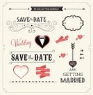 Wedding,Retro Revival,Old-fashioned,Vector,Bridegroom,Arrow,Placard,Invitation,Engagement,Ilustration,Ornate,Elegance,Wedding Dress,Frame,Label,Bride,Valentine's Day - Holiday,Mustache,Save The Date,Backgrounds,Love,Scrapbook,Nameplate,Design Element,Heart Shape,Party - Social Event,Beauty,Decor,Clip Art,Red,Copy Space,1940-1980 Retro-Styled Imagery,Day,Greeting Card,Decoration,Greeting,Classic,Pink Color,Event,Romance,Design,Picket Fence,Shape