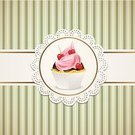 Retro Revival,Old-fashioned,Greeting Card,Fruit,Fruitcake,Label,Cupcake,Backgrounds,Birthday,Pattern,Pink Color,Striped,American Cuisine,Dairy Product,Cake,Anniversary,Decoration,Whipped Cream,Valentine's Day - Holiday,Cherry,Menu,Embellishment,Celebration,Snack,Comfort Food,Ornate,Gourmet,Clotted Cream,Bran Muffin,Dessert,Food,Wedding Anniversary,Romance,Cream,Wallpaper Pattern,Vector,Muffin,Sweet Food,Lace - Textile,Femininity