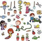 Child,Gardening,Planting,Sowing,Scarecrow,Little Boys,Plant,Rake,Flower,Single Flower,Chores,Environment,Flower Pot,Smiling,Trowel,Springtime,Gardening Fork,Snail,Garden Hose,Cute,Dirt,Seed Packet,Nature,Little Girls,Insect,Sunflower,Butterfly - Insect,Recreational Pursuit,Plant Nursery,Shovel,Environmental Conservation,Potted Plant,Ladybug,Education,Green Thumb,Drawing - Art Product,Tulip,Characters,Seed,Summer,Carrot,Potting,hand drawn,Watering Can,Wheelbarrow,Bucket