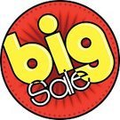Sale,Large,ISTEXT2012,Excitement,Campaign Button,Retail,Red,Yellow