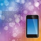Telephone,Christmas,Colors,Backgrounds,Abstract,Illustration,New Year,No People,Vector