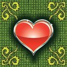 Heart Shape,Red,Vector,Concepts And Ideas,Design Element,Ilustration,Symbol